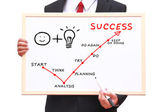 Success is target — Stock Photo
