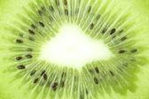 Kiwi close up crop — Stock Photo