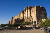 Mehrangarh Fort, Jodhpur, Rajasthan, INDIA — Stock Photo