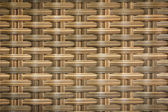 Wicker woven rattan pattern — Stock Photo