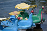 Sealion pedal boat — Stock Photo