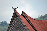 Batak traditional house — Stock Photo