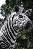Zebra ornament — Stock Photo