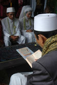 West java traditional wedding ceremonial — Stock Photo