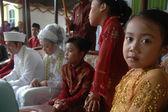West java traditional wedding ceremonial — Stock Photo