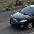 ������, ������: Black colored toyota corolla altis