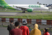 Citilink airplane — Stock Photo