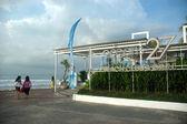 Oceans 27 beach club & grill — Stock Photo