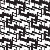 Seamless Monochrome Wallpaper — Stock Vector