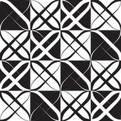 Monochrome Geometric Pattern — Stock Vector