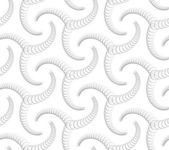 Seamlees Monochrome Geometric Pattern — Stock vektor
