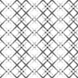Monochrome Geometric Wallpaper — Stock Vector