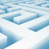 Maze Drawing — Stock Photo