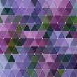 Triangles Pattern — Stock Vector