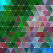 Triangles Background — Stock Vector