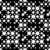 Seamless Dots Ornament — Stock Vector
