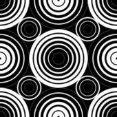 Fondo de círculos sin costuras — Vector de stock