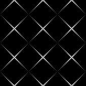 Seamlees Monochrome Geometric Background — Stock Vector