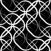 Monochrome Geometric Background — Stock Vector