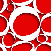 Bezešvé červeném pozadí — Stock vektor