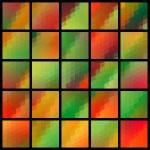 Mosaic Pattern Set — Stock Vector #41972827