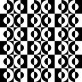 Seamless Modern Mosaic Backgound — Stock Vector