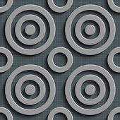 Seamless Circles Pattern — Stock Vector
