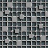 Naadloze vierkanten patroon — Stockvector
