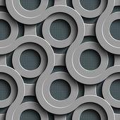 Seamless Disco Pattern — Stock Vector
