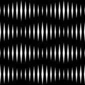 Seamless Monochrome Wave Pattern — Stock Vector