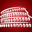 Stock Vector: Colosseum