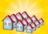 Housing — Stock Vector