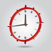 時間の概念 — ストックベクタ
