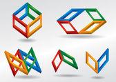 Color icon — Stock Vector