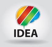 Iinnovative fikir — Stok Vektör