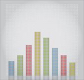 Diagramm der entwicklung — Stockvektor