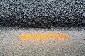 Couche d'asphalte — Photo