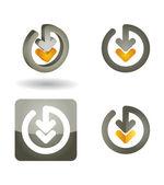 Télécharger concept — Vecteur