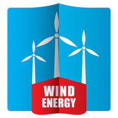 Wind power concept — Vector de stock