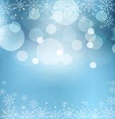 абстрактный синий вектор новый год — Cтоковый вектор