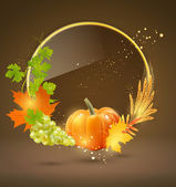 Background for Thanksgiving Day — Stock Vector