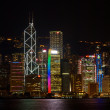Stock Photo: Hong Kong Night Lights