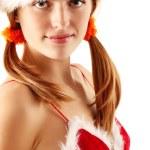 Christmas girl — Stock Photo #12124027