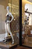 Butik z manekiny w modne bielizna kobiet — Zdjęcie stockowe