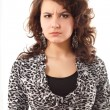 Stock Photo: Young angry woman