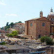 Ruins of ancient Rome, Italy — Stock Photo