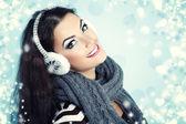 Mulher natal — Foto Stock