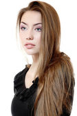 Portait of beautiful teeny girl — Stockfoto