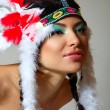 Stock Photo: Native AmericIndian