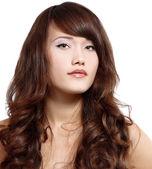 Portait of beautiful girl — Stock Photo